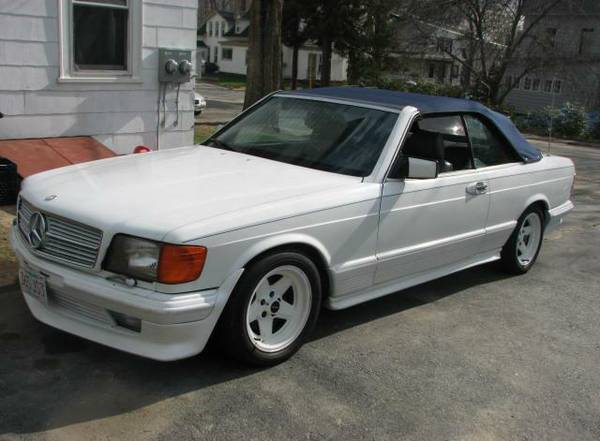 Double Play: 1981 SGS 500SEC AMG Euro Spec – benzhunter